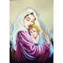 Мать и дитя Канва жесткая с рисунком для вышивки Gobelin L