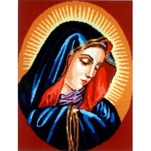 Святая дева Канва жесткая с рисунком для вышивки Gobelin L