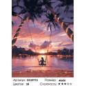 Сложность и количество цветов Закат в раю Раскраска картина по номерам на холсте GX29710