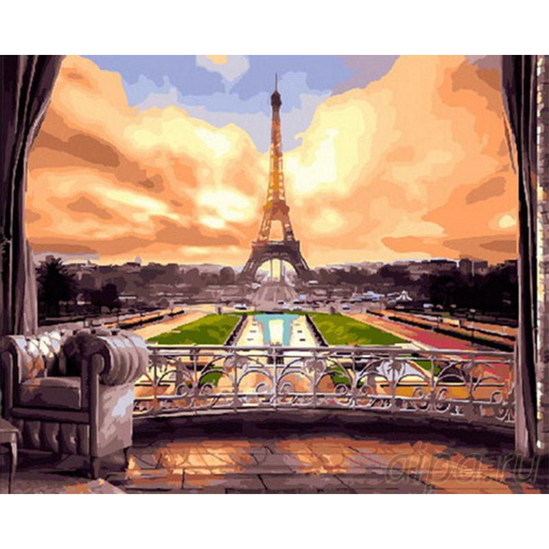 GX29075 Роскошь Парижа Раскраска картина по номерам на ...