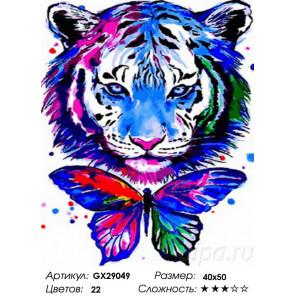 Сложность и количество цветов Сила и лёгкость Раскраска картина по номерам на холсте GX29049