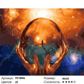 Сложность и количество цветов В гармонии с собой Раскраска картина по номерам на холсте PK18006
