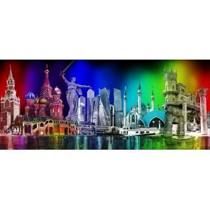 Многоликая Россия Алмазная вышивка мозаика Алмазное Хобби AH5357