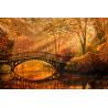 Осенний парк Алмазная вышивка мозаика Алмазное Хобби AH5325