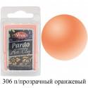 Полупрозрачная оранжевая Pardo Clay Полимерная глина пластика Viva Decor