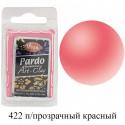 Полупрозрачная красная Pardo Clay Полимерная глина пластика Viva Decor