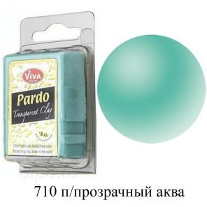 Полупрозрачная аква Pardo Clay Полимерная глина пластика Viva Decor