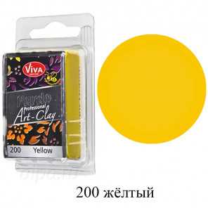 Жёлтая Pardo Art Clay Полимерная глина пластика Viva Decor