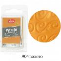 Золото Pardo Mica Clay Полимерная глина пластика Viva Decor