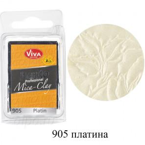 Платина Pardo Mica Clay Полимерная глина пластика Viva Decor