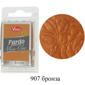 Бронза Pardo Mica Clay Полимерная глина пластика Viva Decor
