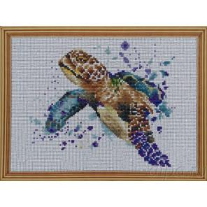 Черепаха Алмазная мозаика на подрамнике P16