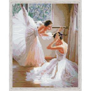 Урок балета Алмазная мозаика на подрамнике QA200353