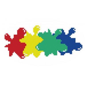 Цветной Алмазная вышивка мозаика P33