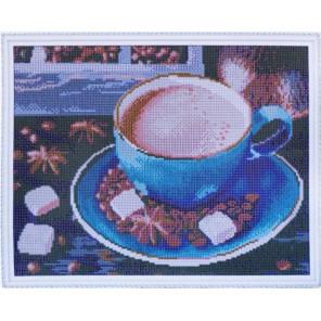 Утро с кофе по-восточному Алмазная мозаика на подрамнике