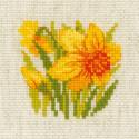 Нарцисс Набор для вышивания Риолис 1841