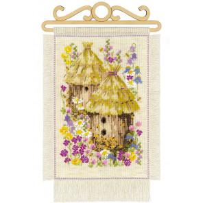 Дача. Лето Набор для вышивания Риолис 1847