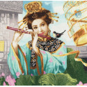 Волшебная флейта Набор для вышивания Золотое Руно ОО-005