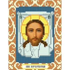Спас Нерукотворный Ткань для вышивания с нанесенным рисунком Божья коровка 0076
