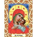 Богородица Корсунская Ткань для вышивания с нанесенным рисунком Божья коровка 0080