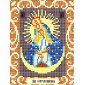 Богородица Остробрамская Ткань для вышивания с нанесенным рисунком Божья коровка 0082
