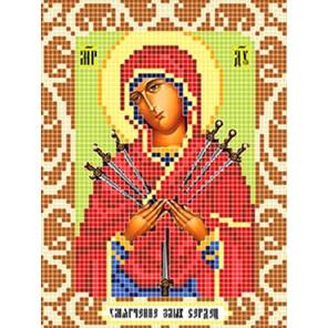 Умягчение злых сердец Ткань для вышивания с нанесенным рисунком Божья коровка 0084
