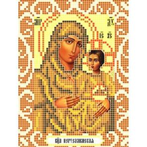 Богородица Иерусалимская Ткань для вышивания с нанесенным рисунком Божья коровка 0087