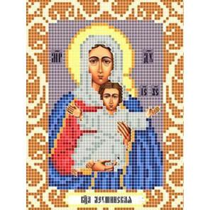 Богородица Леушинская Ткань для вышивания с нанесенным рисунком Божья коровка 0088