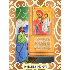 Нечаянная Радость Ткань для вышивания с нанесенным рисунком Божья коровка 0098