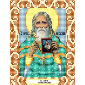 Святой Николай Гурьянов Ткань для вышивания с нанесенным рисунком Божья коровка 0100