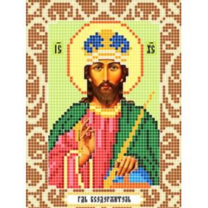 Господь Вседержитель Ткань для вышивания с нанесенным рисунком Божья коровка 0102