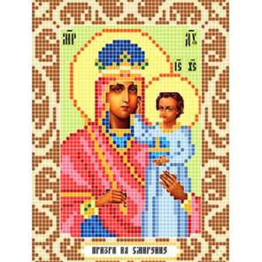 Призри на смирение Ткань для вышивания с нанесенным рисунком Божья коровка 0103