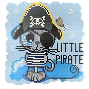 Пират Ткань для вышивания с нанесенным рисунком Божья коровка 0106