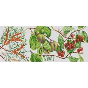 Дары природы 3 Ткань с нанесенным рисунком для вышивки бисером Конек 1268