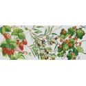 Дары природы 1 Ткань с нанесенным рисунком для вышивки бисером Конек 1266