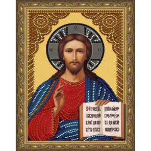 Господь Вседержитель Картина 5D алмазная мозаика с нанесенной рамкой KM0176