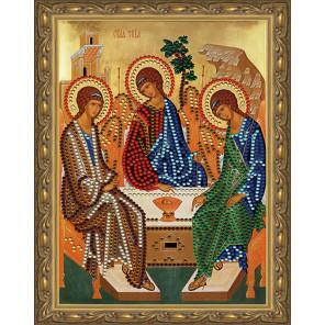 Святая Троица Картина 5D алмазная мозаика с нанесенной рамкой KM0179