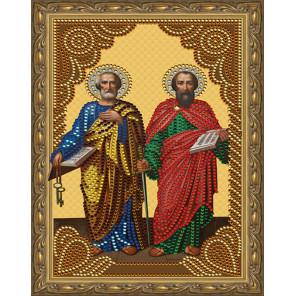 Святые апостолы Пётр и Павел Картина 5D алмазная мозаика с нанесенной рамкой KM0183