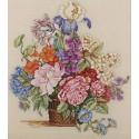 Весенний букет Набор для вышивания Cчетный крест Bucilla
