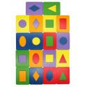 Дощечки Сегена 18 деталей, 6 цветов Игра развивающая 6201412