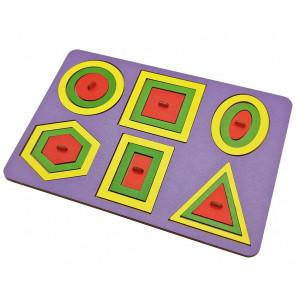 Паутинка Монтессори цветная Игра логическая 6301391