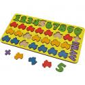Машинки арифметика Игра развивающая деревянная 6101251