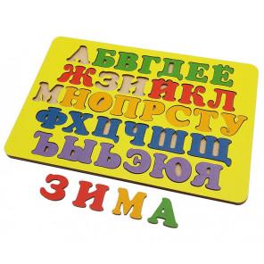 Русский алфавит Игра развивающая деревянная 6101171
