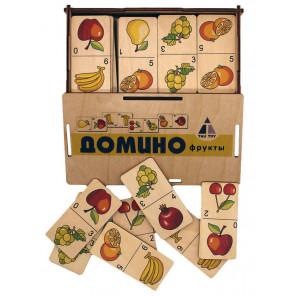 Фрукты Домино игра развивающая 6201111