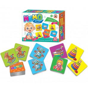 Игрушки Мемо Игра развивающая 3455