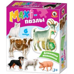 Домашние животные MAXI-пазлы 2542