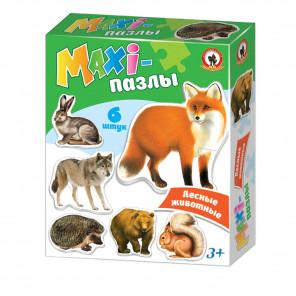 Лесные животные MAXI-пазлы 2544