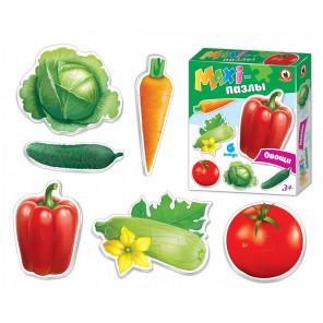 Овощи MAXI-пазлы 2545