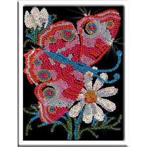 Бабочка Набор для создания картины из пайеток 001