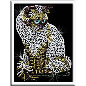 Кошка Набор для создания картины из пайеток 019